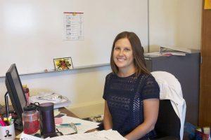 Lindsey Kornfeld is the newest Social Studies teacher.