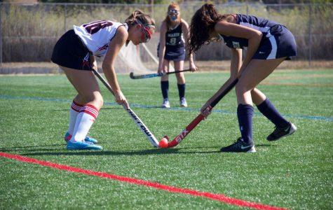 Girls' varsity field hockey ties MC despite strong offense
