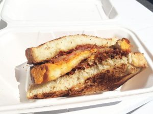The Bacon Grilled Cheese from Bacon Bacon.