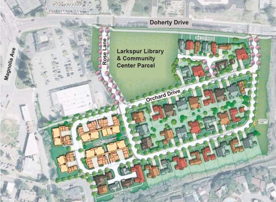 THE CITY OF LARKSPUR is discussing its plans for the new Library and Community Center, which is to be located on Doherty Drive. The town wants to modernize the space with 21st century technology.
