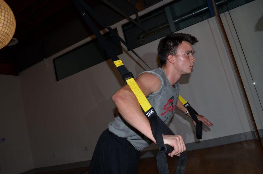 Student teaches TRX classes at new multimodality studio