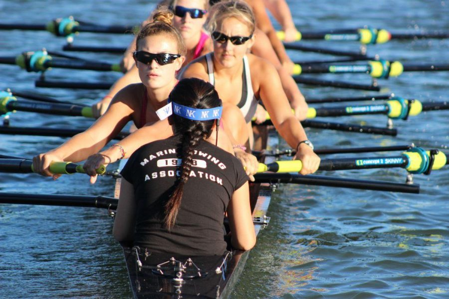 Tong and Segedin verbally commit to UCLA for rowing