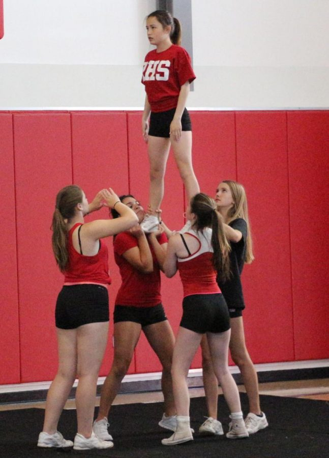 Cheer rallies for new season, looks for new leaders