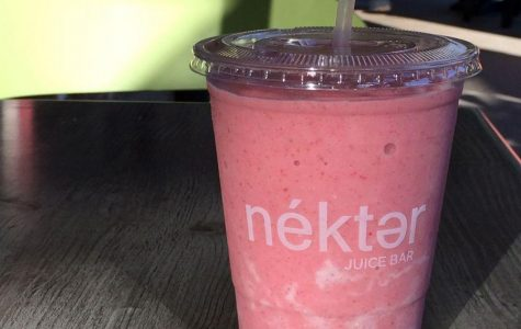 Sweet strawberry-banana smoothies satisfy student's cravings