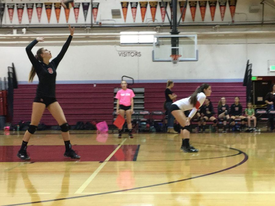 Freshman girls' volleyball endures tough loss against Marin Catholic