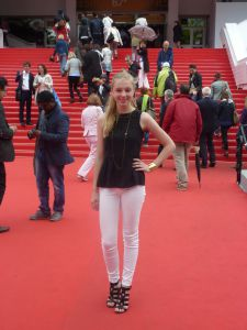 Flaum attends the Cannes Film Festival in France.
