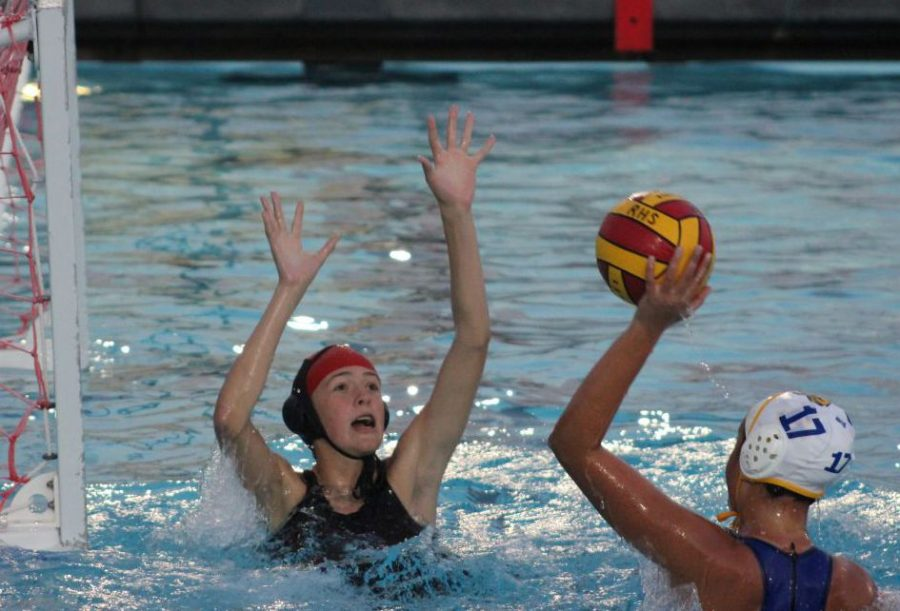 JV girls' water polo loses big against Terra Linda