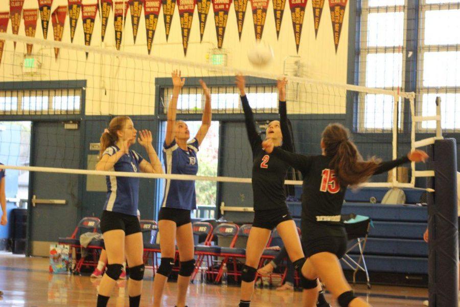 Girls' freshman volleyball remains strong toward the season's upcoming end