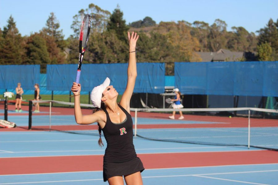 Girls' varsity tennis loses to Tam in MCAL finals after tie-breaking match