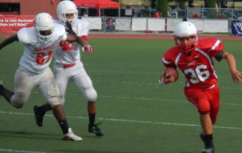 Freshman-sophomore football powers through to its third victory