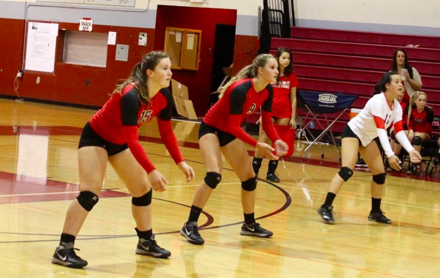 Possible headline: JV girls maintain undefeated streak