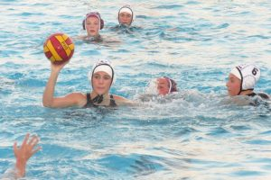 The JV girls' water polo team shut out Cardinal Newman on Oct. 1.