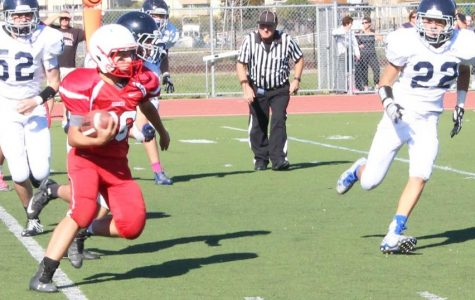 Freshman-sophomore football ends season with loss against Marin Catholic