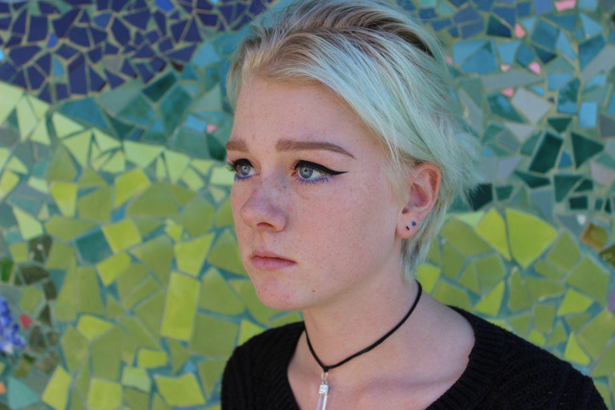 Sophomore Talia Klein identifies as non-binary