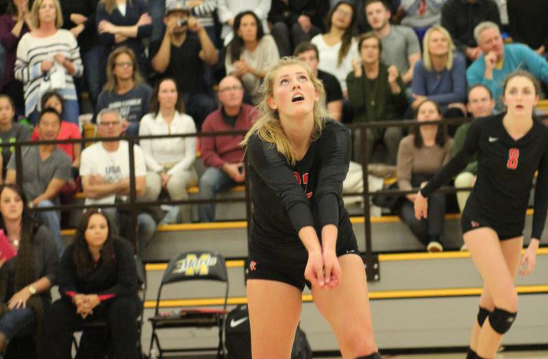 Varsity girls' volleyball claims MCAL title, remains undefeated