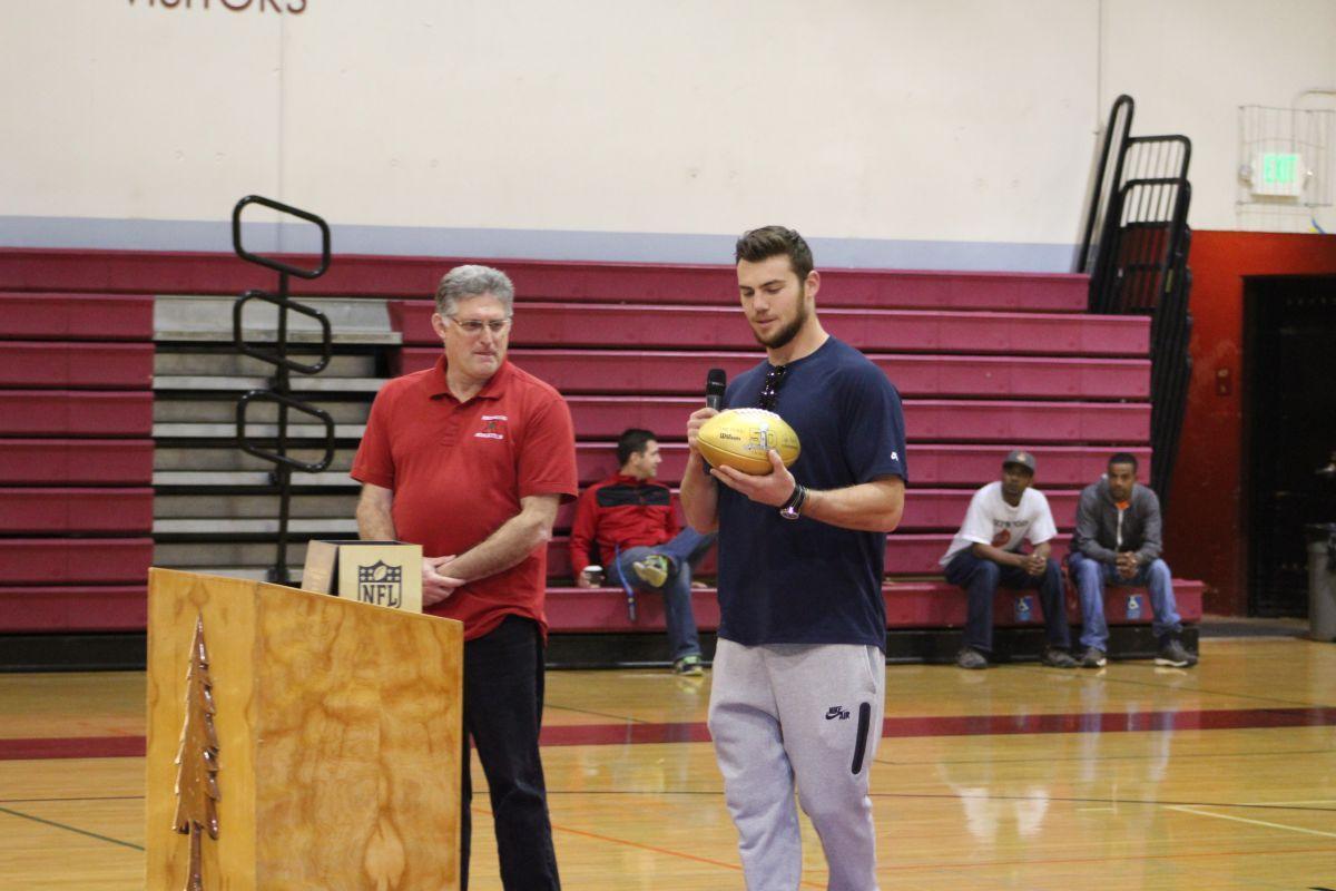 Super Bowl Champion Cooper Helfet returns to Redwood