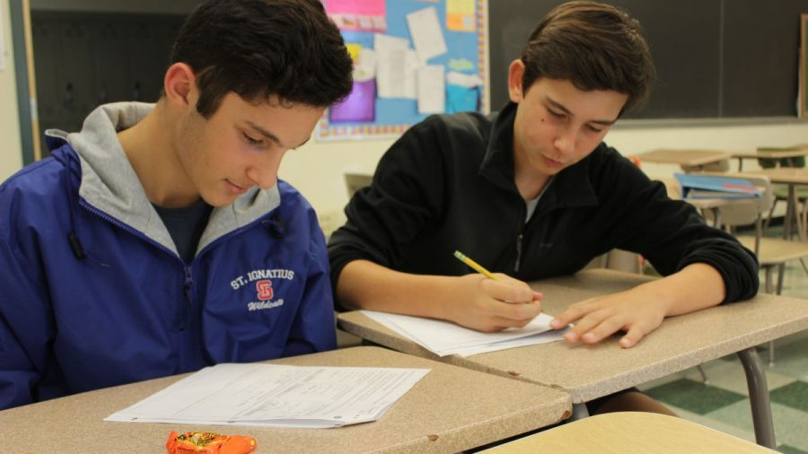 Last Tuesday was the first time sophomore Iman Razavi and Brandon Radu went to the tutoring session run by Mrs. Crabtree