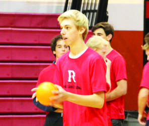 Juniors sweep staff in Turkey Dodgeball Tournament