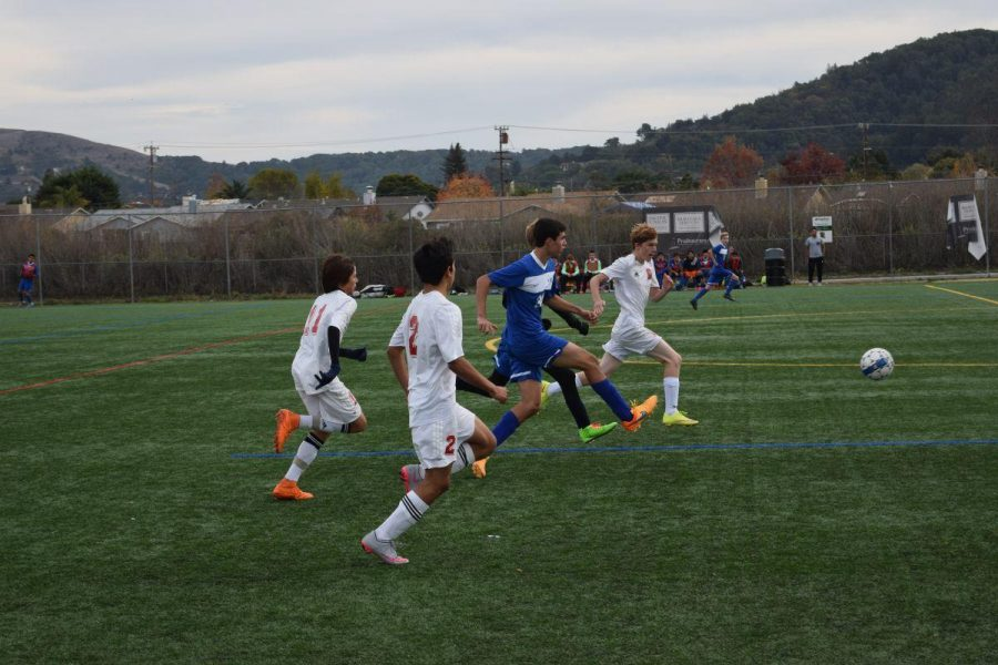 JV boys' soccer team gains win against Terra Linda