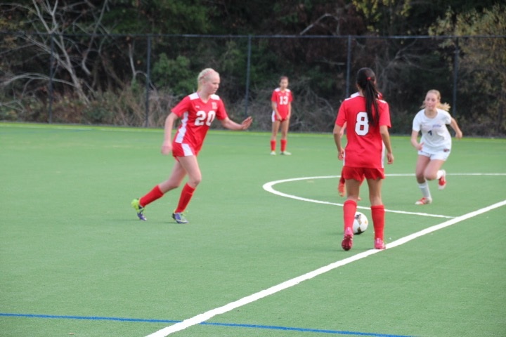 JV girls' soccer opens season with a win