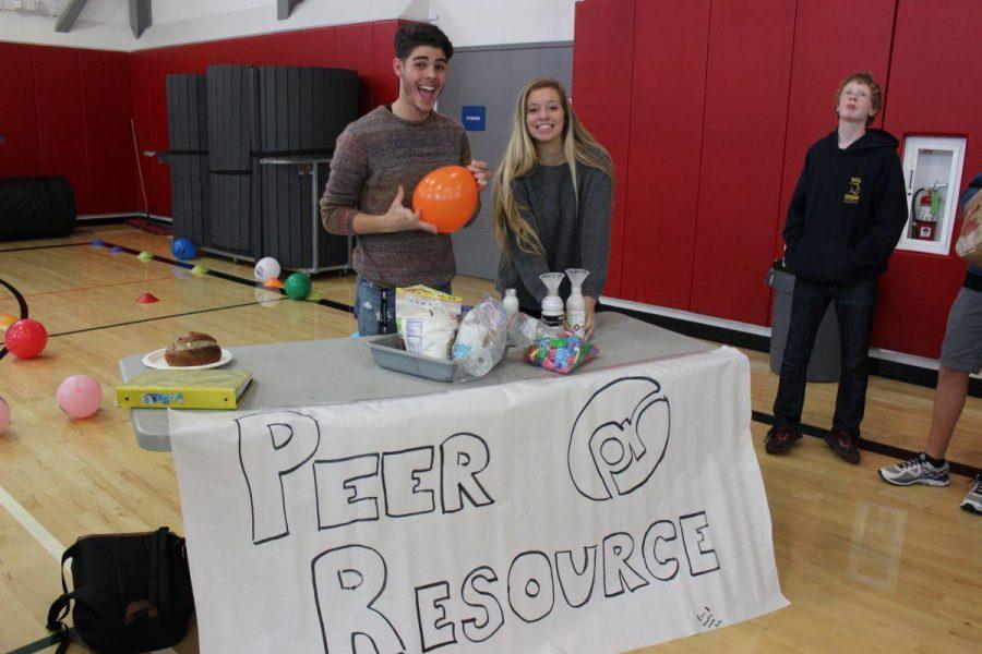 Students represent Peer Resource.