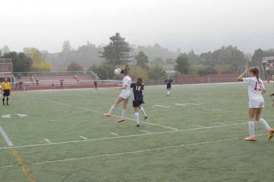 Girls' varsity soccer routs Justin-Siena