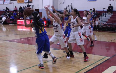 Girls' varsity basketball crushes Terra Linda