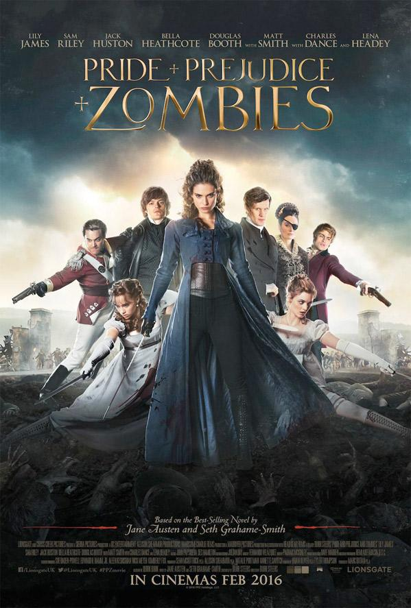 Pride and Prejudice and Zombies is hilariously creepy with a romantic twist