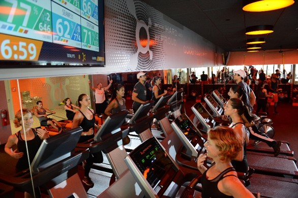 Orange Theory Fitness offers exhilarating new interval class