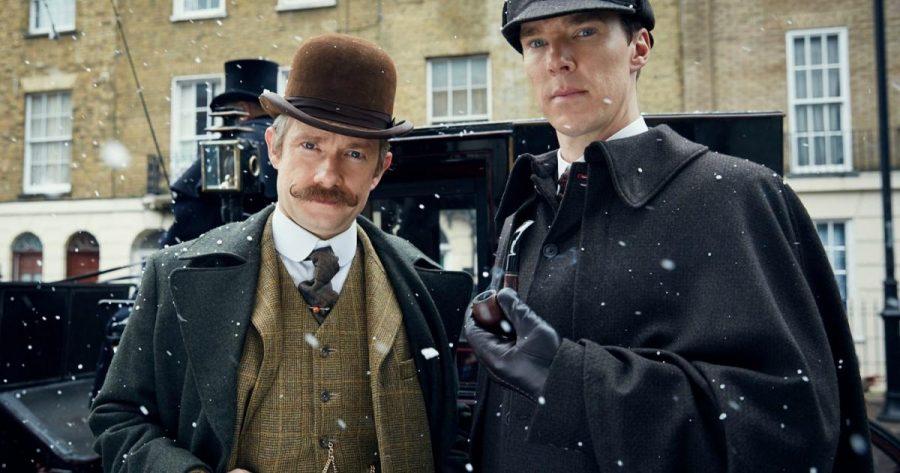 Benedict Cumberbatch and Martin Freeman return as Sherlock Holmes and Dr. Watson in Sherlock special