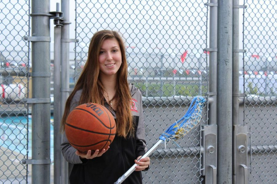 Sophomore Ashley Lamar plays water polo, basketball and lacrosse.