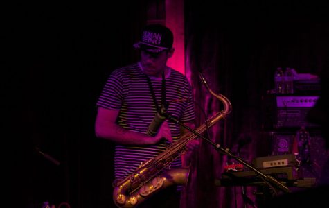 Tenor saxophonist Ryan Zoidis jams out.