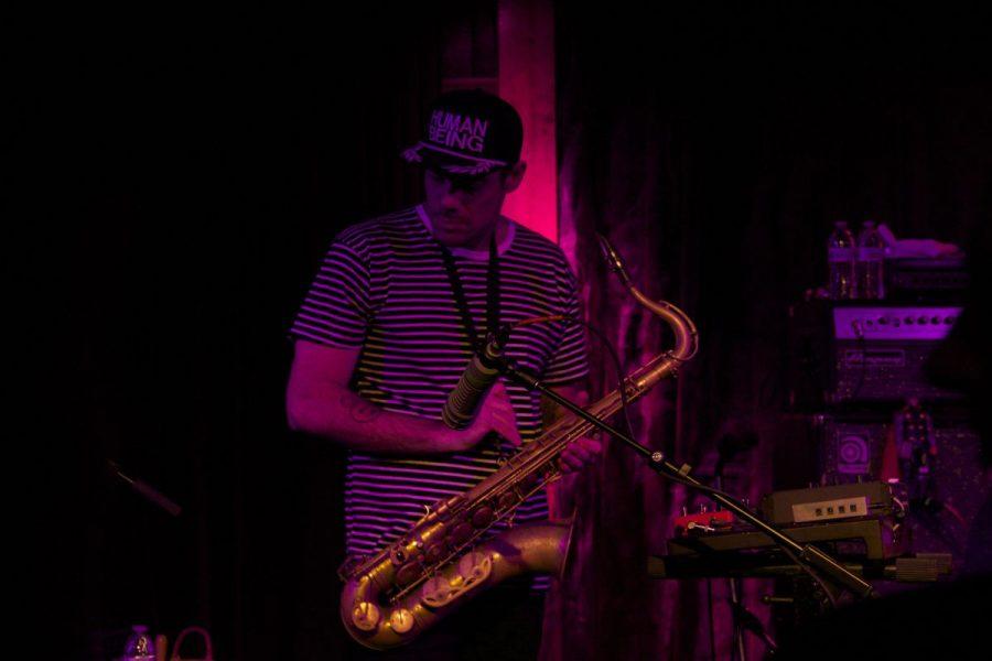 Tenor saxophonist Ryan Zoidis jams out.