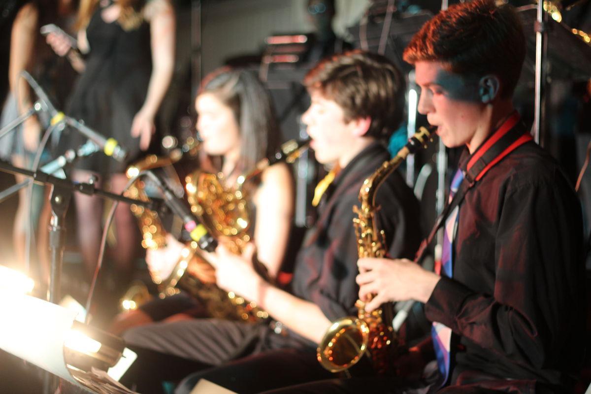Jazz+B+Band+members+play.+