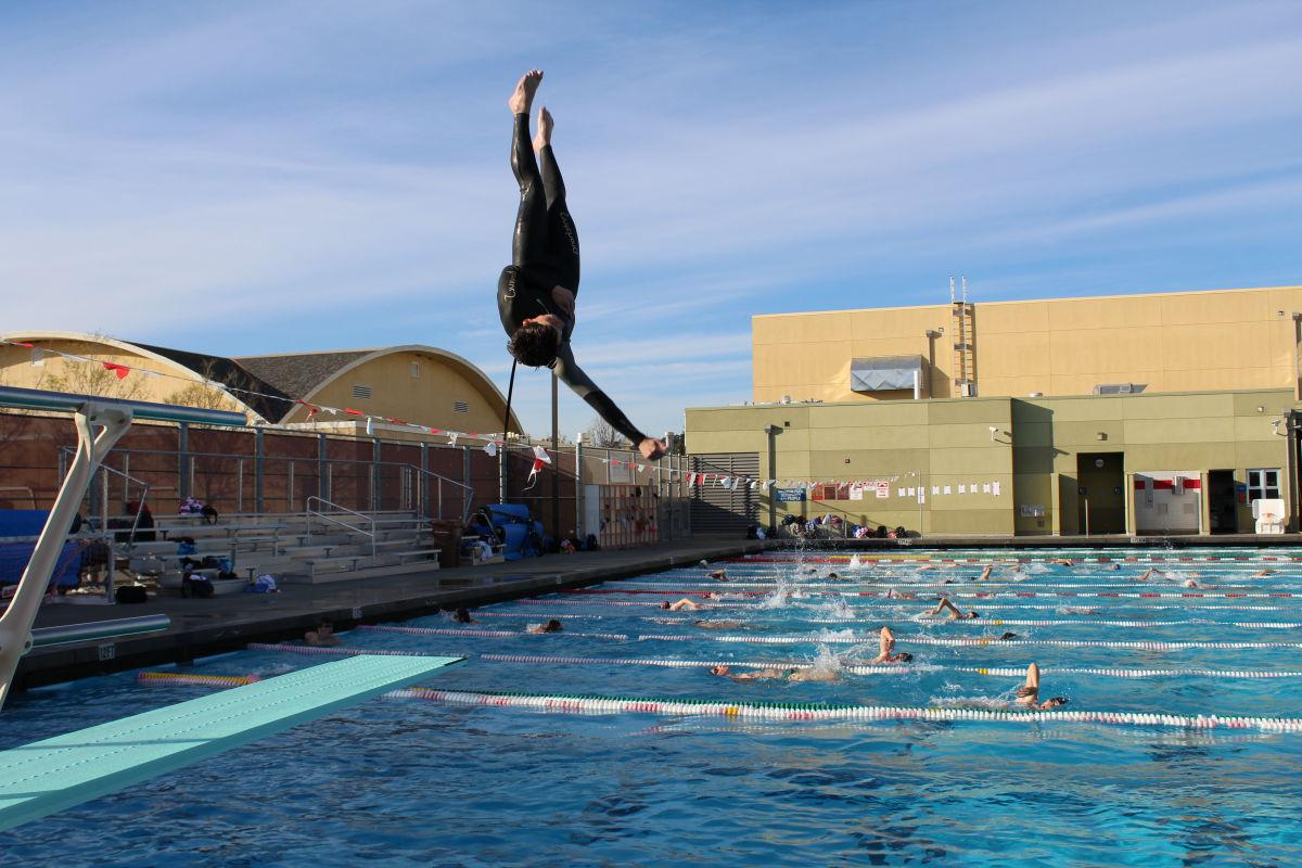 Taking the plunge: Diving team springs into season
