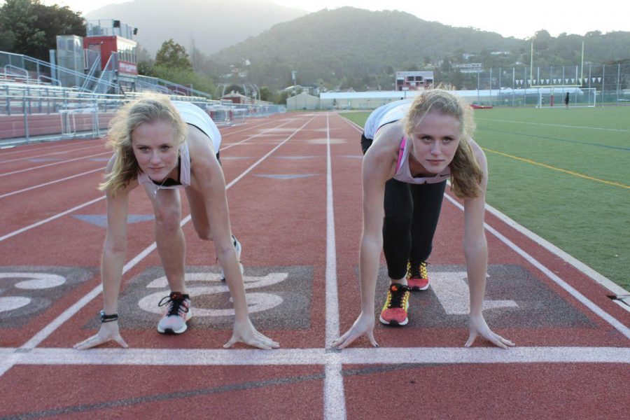 Track and field fuels friendly rivalry between junior twins