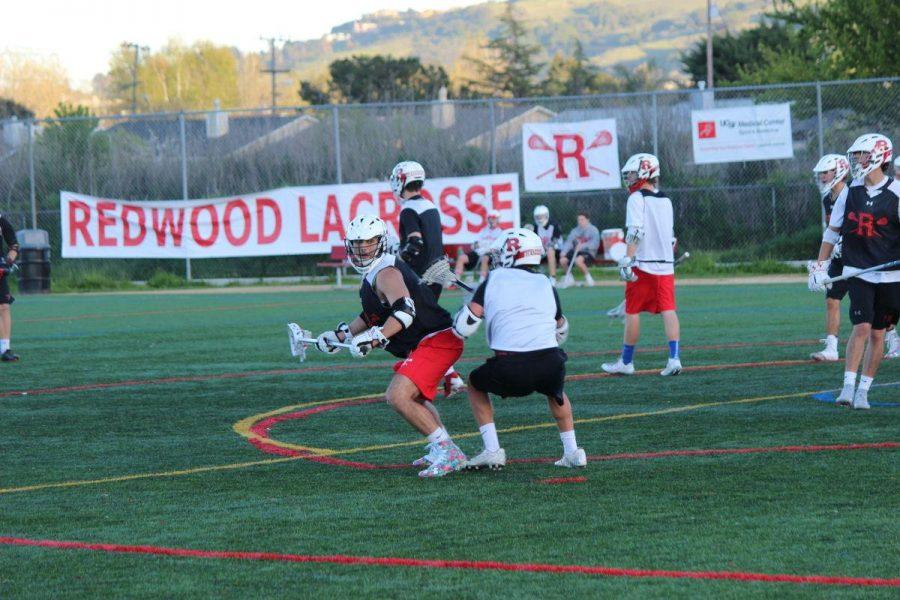 Redwood lacrosse practice