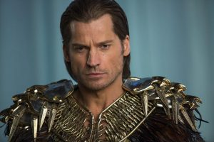 As Horus, god of the air, Nikolaj Coster-Waldau managed moments of magestry and mystery.