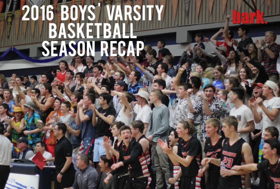 2016 boys' varsity basketball season recap