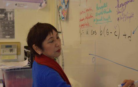 Math teacher transitions from Kona to cosines