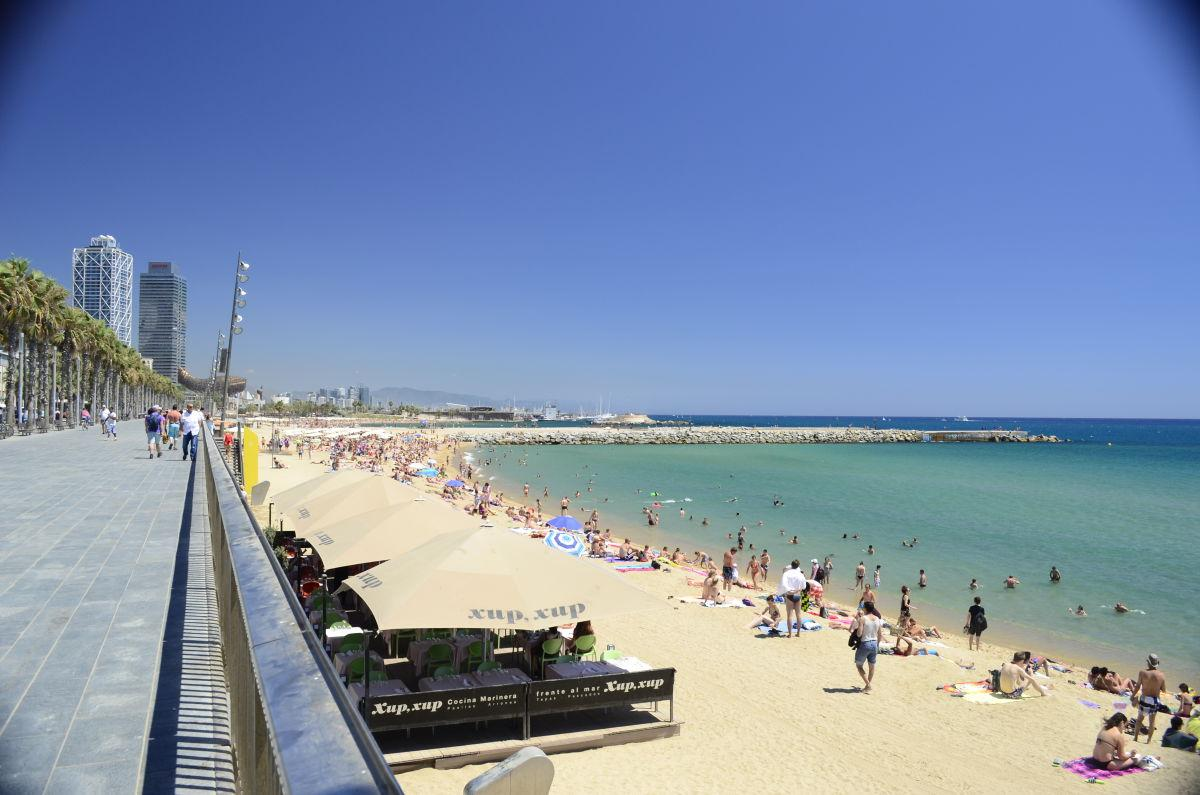 La Playa Barceloneta