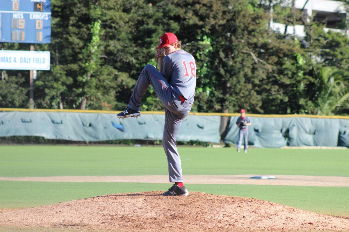 Varsity baseball grabs win against Marin Catholic despite late comeback