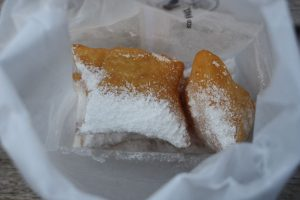 Earning five star, downtown Fairfax's own Hummingbird Cafe's beginets were everything one could hope for when craving a traditional sweet beignet doused in powdered sugar.