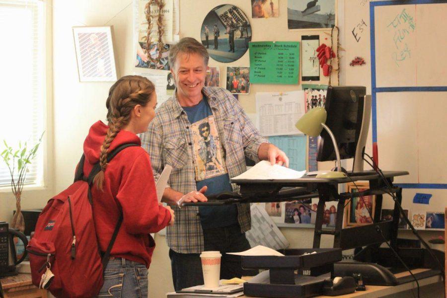 Taking a stand: Teachers turn toward ergonomic desks