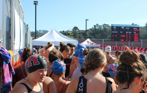 Redwood swimming sweeps Tam at home meet