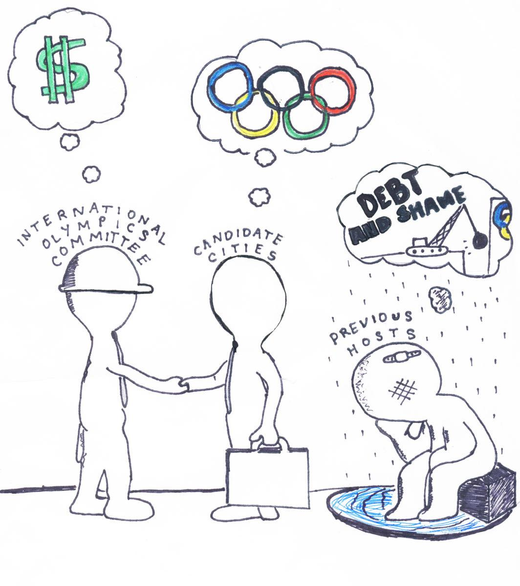 Though it may appear that hosting the Olympics will bring as much wealth as it does publicity, the reality is that, in most cases, it results in a bottomless spiral of government spending.