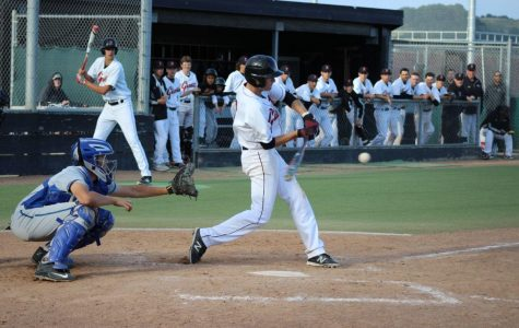 Redwood varsity baseball triumphs Branson 8-3