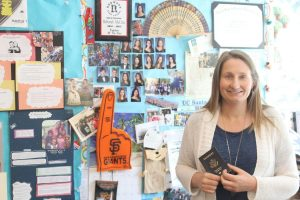 World language teacher Debbie McCrea will travel to India to teach global education