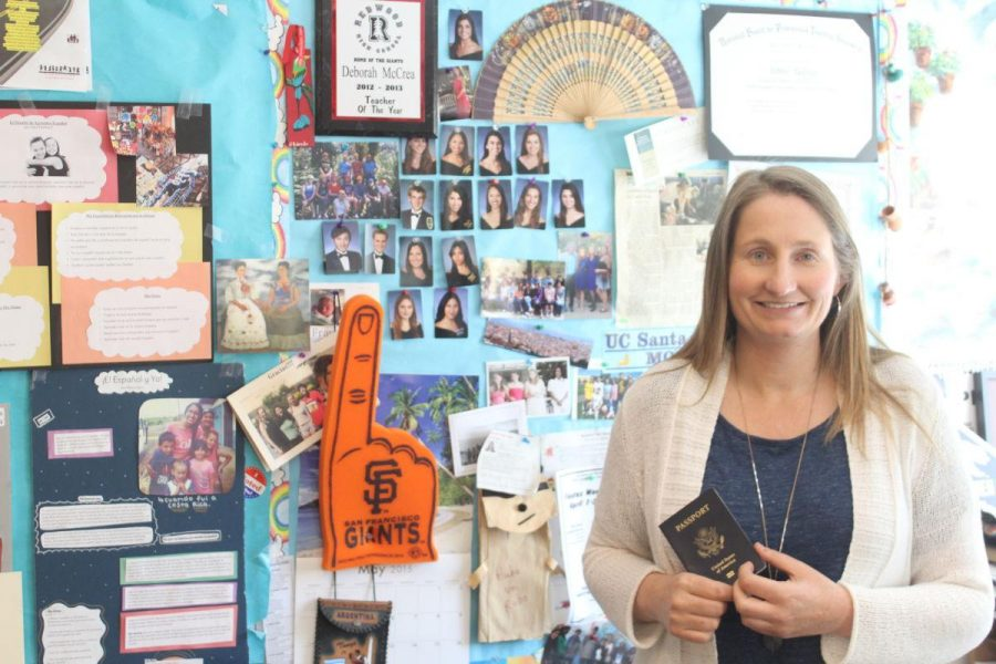 World language teacher Debbie McCrea will travel to India to teach global education