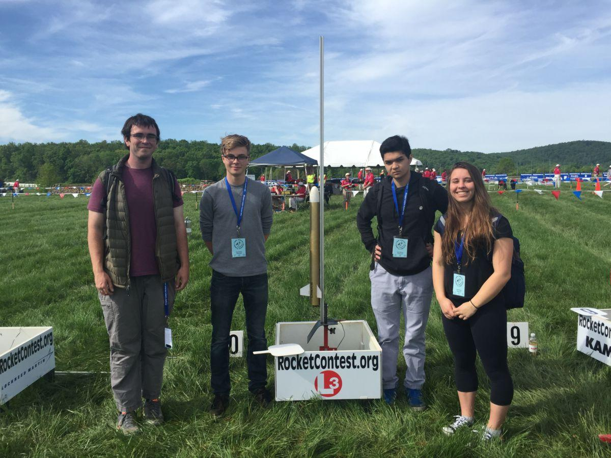 Rocketry competes in national championship